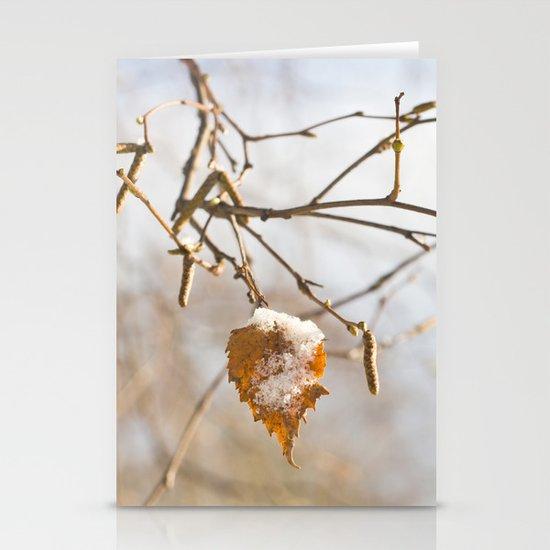 Winter wonders Stationery Card