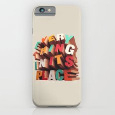 Everything In Its Place Slim Case iPhone 6s