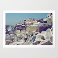 Oia, Santorini, Greece I… Art Print