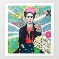 Frida Kahló Art Print