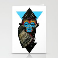 Color Me Monkey Stationery Cards