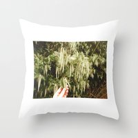 Tangan 1 Throw Pillow