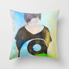 Mood #387 Throw Pillow