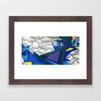 Undulatus Asperatus Framed Art Print