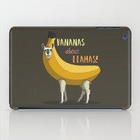 Bananas About Llamas! iPad Case