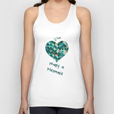 REALLY MERMAID Unisex Tank Top