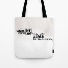Moments Lost Tote Bag