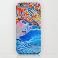 iPhone & iPod Case featuring With Every Breath by Ming Myaskovsky