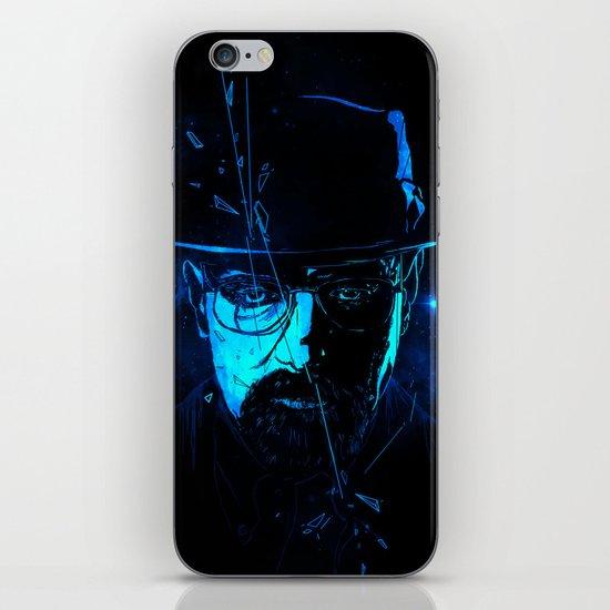 Mr. White (Crystal Blue) iPhone & iPod Skin