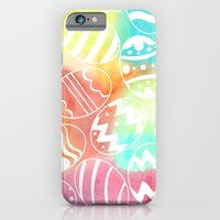 Watercolored Eggs iPhone 6 Slim Case