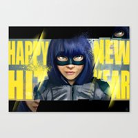 Happy New Hit Year ! :) Canvas Print
