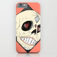 iPhone & iPod Case featuring Skull by Lilyana Reyes