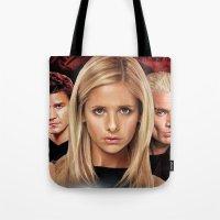 Buffy The Vampire Slayer… Tote Bag