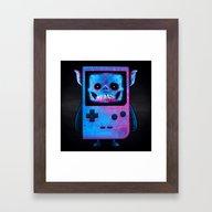 UNDEAD BOY / GAMEBOY / S… Framed Art Print