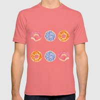 doughnut selection Mens Fitted Tee Pomegranate SMALL