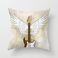 Live Life Loud Throw Pillow