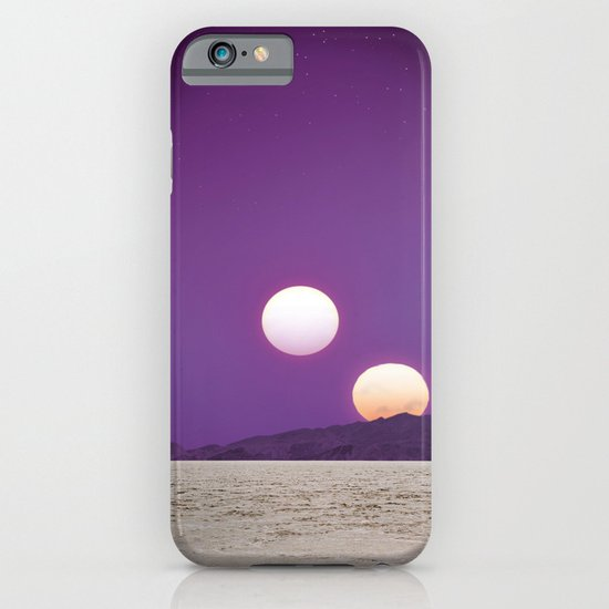 Binary Sunset iPhone & iPod Case