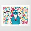 Moobies Art Print