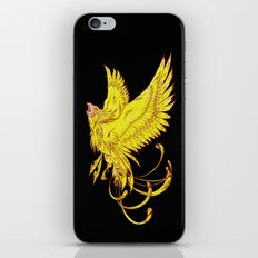 Phoenix on Fire iPhone & iPod Skin