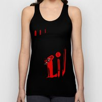 The Masque Of The Red De… Unisex Tank Top