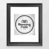 Ronning Park Framed Art Print