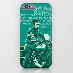 T.E. Lawrence on his Brough Superior Slim Case iPhone 6s