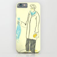 iPhone & iPod Case featuring Pez y naranja by Sonia B
