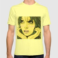 Cloudnine Mens Fitted Tee Lemon SMALL