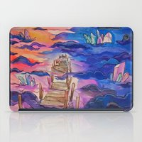 Space Clouds Crystals  iPad Case