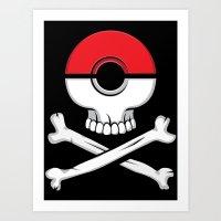 Pirates of Poke.. Art Print