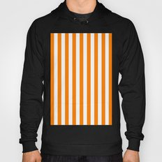 Vertical Stripes (Orange/White) Hoody