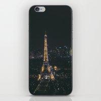 Eiffel Tower Light Show iPhone & iPod Skin