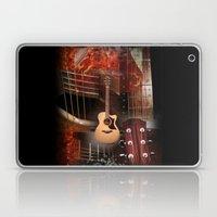 The Acoustic Guitar  Laptop & iPad Skin