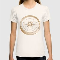 Go With Love Womens Fitted Tee Natural SMALL