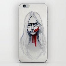 Zombie Girl iPhone & iPod Skin