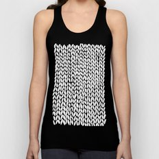 Hand Knitted Loops Unisex Tank Top
