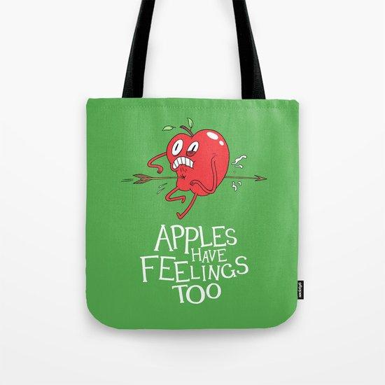 Apple Shot Tote Bag