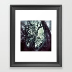 Flash Back Framed Art Print