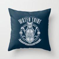 Water is Benevolent Throw Pillow