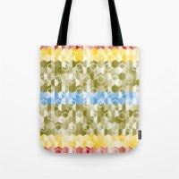 Hexagon pattern Tote Bag