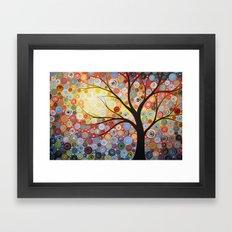 Celestial Sunset Framed Art Print