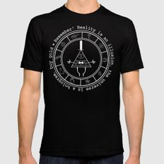 Bill Cipher - Dark Mens Fitted Tee Black SMALL