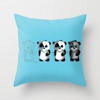 PANDASTRATION Throw Pillow