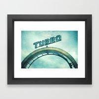 turbo Framed Art Print