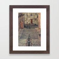 Alfama, Lisbon. Framed Art Print