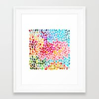 Rain 6 Framed Art Print