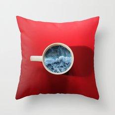 Seapression Throw Pillow