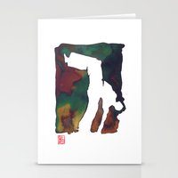 Capoeira 424 Stationery Cards