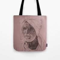 Egyptian Old Man Tote Bag