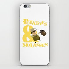 Potatoes & Molasses iPhone & iPod Skin
